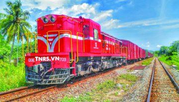 """Đường sắt cũ khó """"cõng"""" giảm chi phí logistics"""